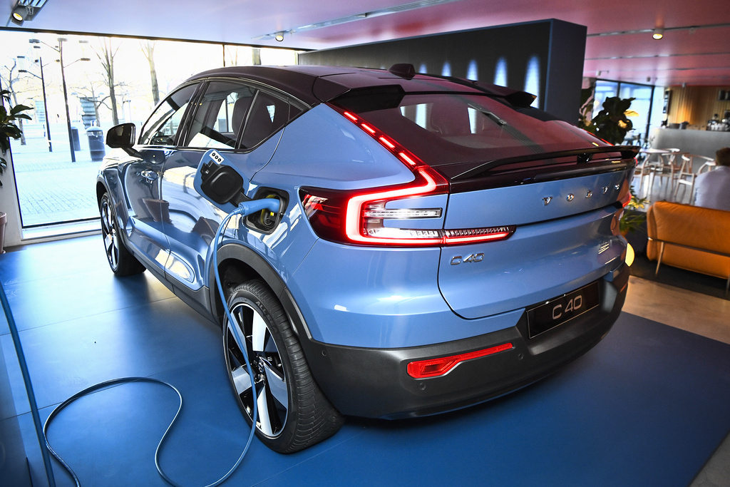 Volvo Cars is investing wholeheartedly in electric cars – and is showcasing the new C40