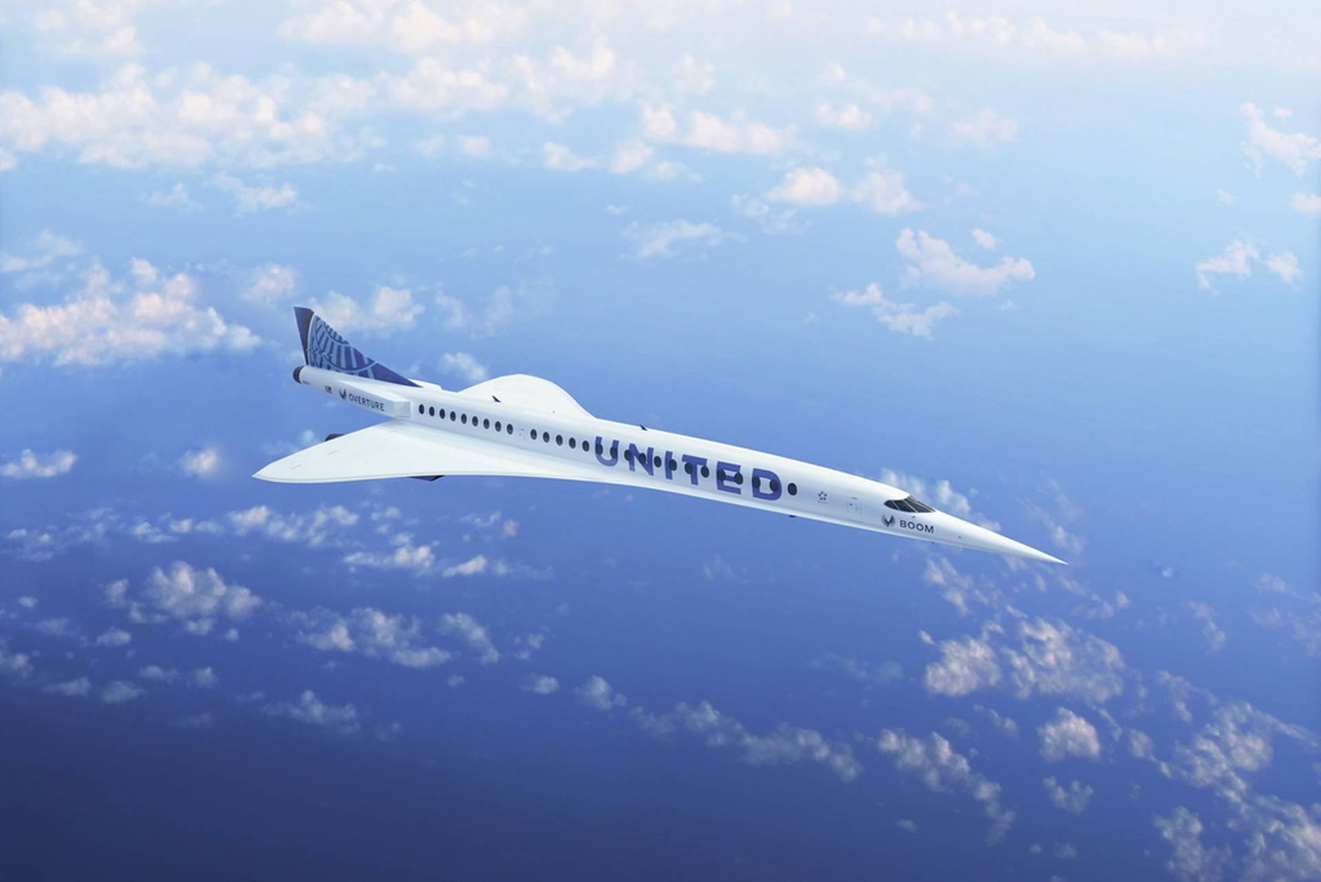 Their supersonic aircraft can halve the flight time to the United States