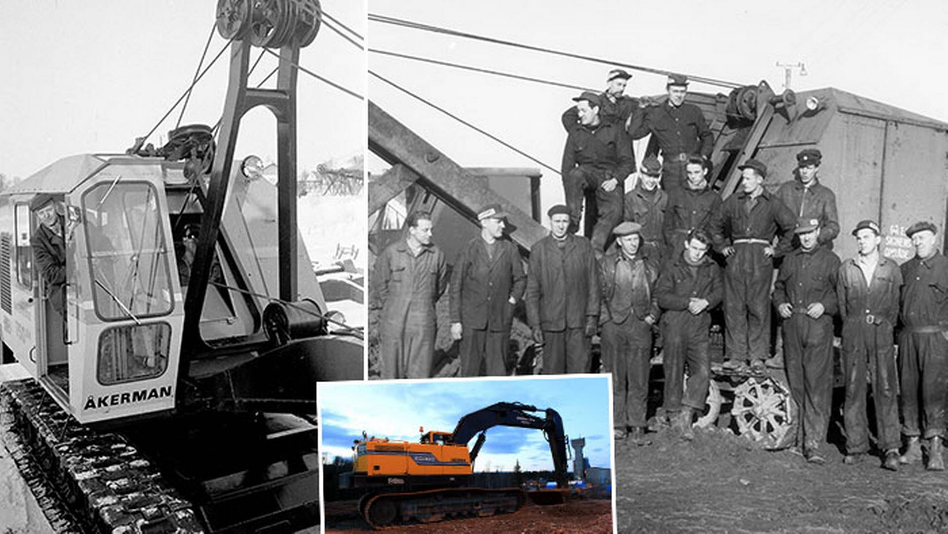 The excavator created a strong community
